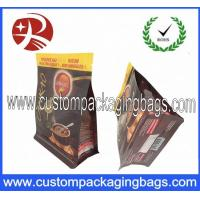 Wholesale Gravure Printing Food Grade Coffee Packaging Bags Stand up Zipper Pouch Flat Square Bottom from china suppliers