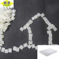 Quality WaterproofHot Melt Glue Granules High Adhesive Strength For Spring Mattress for sale