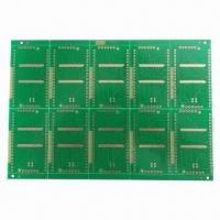 Buy cheap 4-layered Gold Plating PCB with 1.6mm Board Thickness from wholesalers