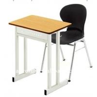 China single school desk and chair on sale