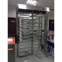 Quality 304 SUS Stainless Steel High Speed Security Revolving Doors Full Height Turnstile for sale