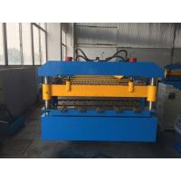 Wholesale Manual Decoiler Roof Panel Roll Forming Machine 5.5kw Motor Power YX14-74-888 from china suppliers
