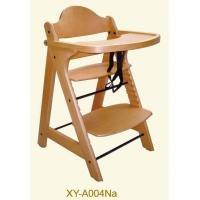 Wholesale Solid Beech wood Baby High chair from china suppliers