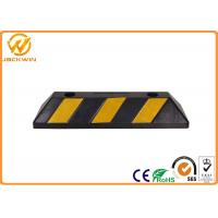 Wholesale Reflective Durable Rubber Car Parking Wheel Stops for Trucks 550*150*100 mm from china suppliers