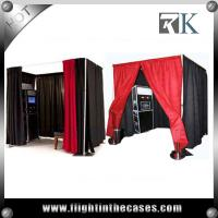 Quality pipe and drape round photo booth equipment custom made photo booth for sale