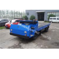 Buy cheap Heavy Load Electric Transport Truck , Flatbed Delivery Truck Lead Acid Battery Power from wholesalers