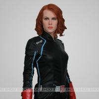 Quality Actress Black Widow Most Realistic Wax Figures Lifelike Celebrity Role In Avengers for sale