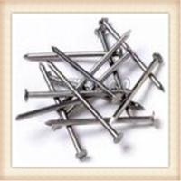 Wholesale 4.8mm / 80mm Iron Wire Nails , Low Carbon Steel Galvanized Common Nails from china suppliers