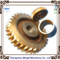 Wholesale Copper Ra 0.4 - 0.8 Stepper Motor Single Hellical Worm Gear Parts for Worm Gearbox from china suppliers