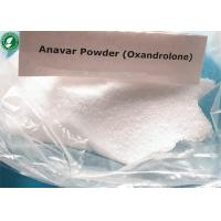 Wholesale White Powder Oxandrolone Anavar Raw Steroid Powders CAS 53-39-4 For Bodybuilding from china suppliers