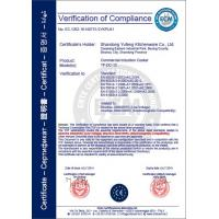 Shangdong yufeng kitchenware co, ltd,. Certifications