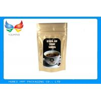 Wholesale Aluminum Foil Stand Up Pouch With Zipper , Various Design Food Packaging Pouches from china suppliers