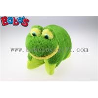 Wholesale 38cm Soft Plush Frog Pet Pillow Stuffed Cushion from china suppliers