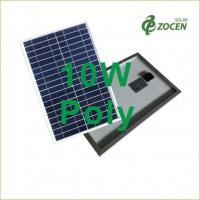 Wholesale 10W Polycrystalline Solar Panels Ethylene Vinyl Acetate 366 * 306 * 17 mm from china suppliers