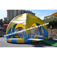 Wholesale Inflatable Swimming Water Pool with 6 legs mobileTent cover and protective net from china suppliers
