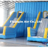 Wholesale Big Pvc Inflatable Double Water Slide with Blower for Outdoor Game from china suppliers