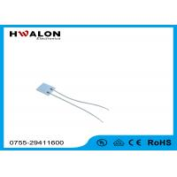 Buy cheap 12V 1.3mm Thickness Thermostatic Insulation PTC Resistor Alumina Ceramic Heaters from wholesalers