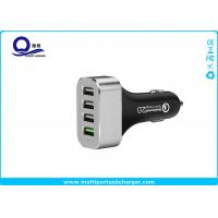 Buy cheap 48W 9.6A 4 Port Smartphone Car Charger with QC 2.0 Supported for Galaxy S7 S6 Edge S8 from wholesalers