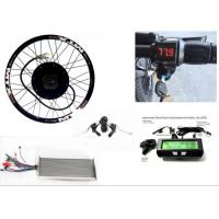 Wholesale 3000w hub motor  Rear Wheel Electric Bicycle Conversion kit for electric bike or motorcycle from china suppliers