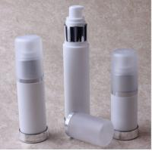 Wholesale 15ml,30ml,50ml Milk White PP Lotion Bottle Plastic Airless Bottles for Emulsion from china suppliers