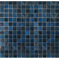 Quality KG247 popular square art pattern swimming pool crystal glass mosaic for sale