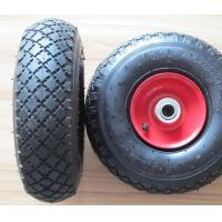 Buy cheap Steel Rim Rubber Wheel (PR1805-1 10