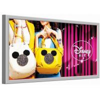 Wholesale Single Side Fabric LED Light Box , Super Slim LED Picture Frame Wall Mounted from china suppliers