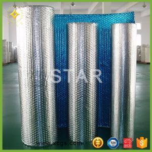 China bubble wrap aluminum foil heat resistant insulation on sale
