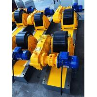 Wholesale Conventional Turning Roll Tank Welding Rotators PU 40000kgs Driving Inverter from china suppliers