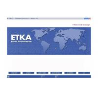 Wholesale ETKA Electronic Catalogue V7.5 Automotive Scan Tool Software For Audi VW Seat Skoda from china suppliers