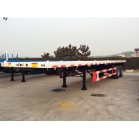 Buy cheap 40 Feet-2 Axles-Flat Bed Semi-Trailer from wholesalers
