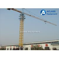 Wholesale Hammerhead Fixed Tower Crane for High Rising Building Construction , ISO from china suppliers