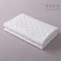 cotton Microfiber Filling Comforter/quilt White Hotel Duvet / Quilt with piping double stitches