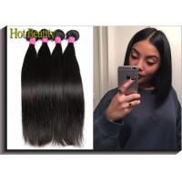 "Wholesale Brazilian Straight Virgin Human Hair Extensions Natural Black 10""-32"" 100% Virgin Hair from china suppliers"