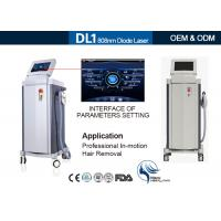 Wholesale Germany Bars 808 Nm Diode Laser Hair Removal Machine , Laser Depilation Machine from china suppliers