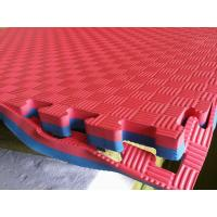 Wholesale High Density 100% EVA Foam Taekwondo mat 1*1m with 25mm from china suppliers
