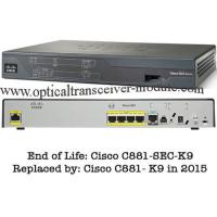 Wholesale 4 LAN Ports Wired Cisco 800 Series Router CE Certification CISCO881/K9 from china suppliers