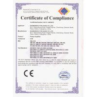 GUANGZHOU CVR PRO-AUDIO CO.,LTD Certifications
