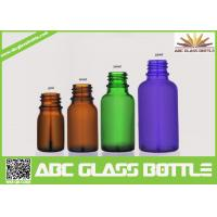 Wholesale Cool Empty 5ml 10ml 20ml Amber Green Blue Glass Essential Oil Bottle from china suppliers
