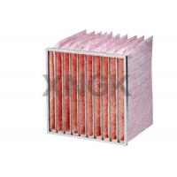 Wholesale Glass Fiber Pocket Air Filter F7 F8 F9 Efficiency Industrial Application from china suppliers