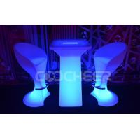 Buy cheap IP65 Metal lighted coffee table Led Bar Table with ice bucket , DMX Controlled from wholesalers