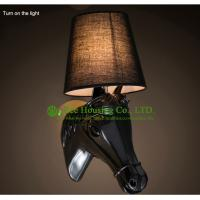 Wholesale Hand Carved Wall Lamp Iron Global Bulb Lighting Led Residential Lighting from china suppliers