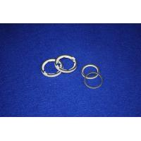 Wholesale Custom Precision Dry Pressing / CIP Pure White High Alumina Metalized Ceramics Ring Part from china suppliers