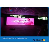 Wholesale Light weight Cabinet P10 Digital LED Billboard , stage LED screen Panel with 1 / 4 scan from china suppliers