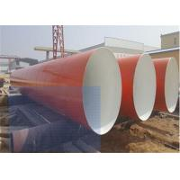 Wholesale Large Carbon Steel Anti Corrosion Pipe / Length 5.8m-12m Round Metal Pipe from china suppliers