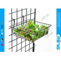 Wholesale Wire Metal Gridwall Display Racks , Grocery Store Fixtures Clothing Display from china suppliers