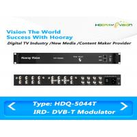 Quality 3.7kg Four Frequencies DVB-T CATV QAM Modulator With 128 IP / 8 Tuner Input for sale