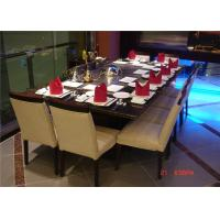 Wholesale 8 Seats Rectangle Teppanyaki table 304 stainless steel Teppanyaki Grill from china suppliers