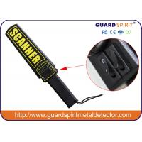 Wholesale Super Handheld Metal Detector Wand , Hand Held Body Scanner for Security from china suppliers
