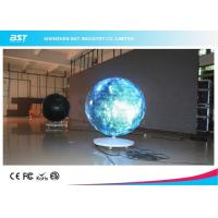 Wholesale 360° Arc Flexible module Curved LED Screen Video Display For stage / event show from china suppliers